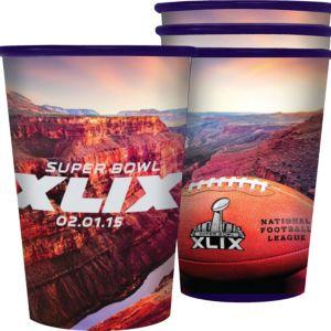 Super Bowl Cups 4ct