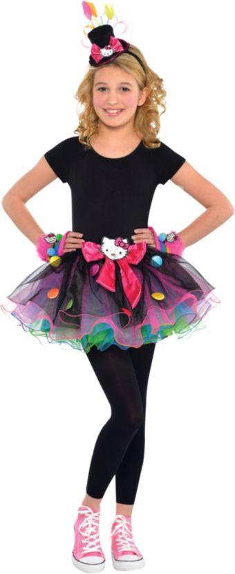 Girls Sweet Hello Kitty Costume