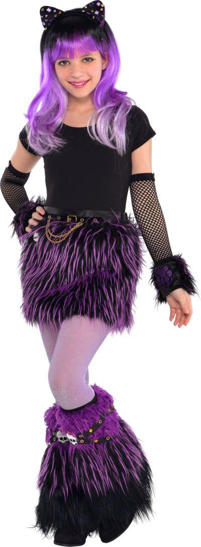 Girls Furry Monster High Costume