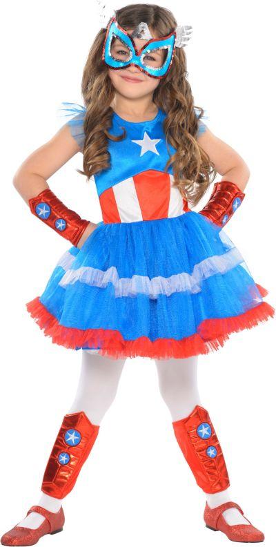 Girls Tutu American Dream Costume