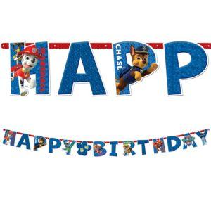 PAW Patrol Birthday Banner