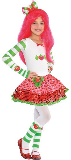 Girls Strawberry Shortcake Costume