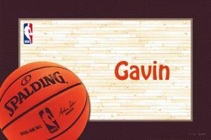 Custom NBA Spalding Thank You Notes