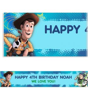 Custom Toy Story Power Up Banner 6ft