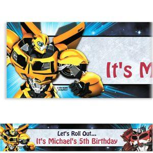 Custom Transformers Banner 6ft