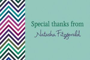 Custom Electric Wave Cool Thank You Notes