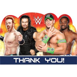 WWE Thank You Notes 8ct