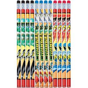 Power Rangers Pencils 12ct