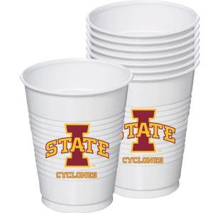 Iowa State Cyclones Plastic Cups 8ct