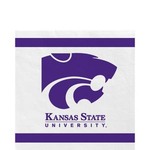 Kansas State Wildcats Lunch Napkins 20ct