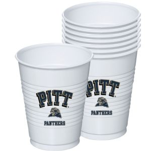 Pittsburgh Panthers Plastic Cups 8ct