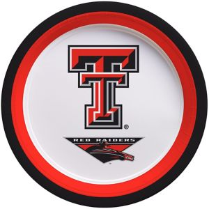 Texas Tech Red Raiders Lunch Plates 10ct