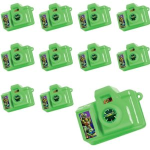 Teenage Mutant Ninja Turtles Click Cameras 24ct