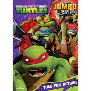 Teenage Mutant Ninja Turtles Coloring & Activity Book