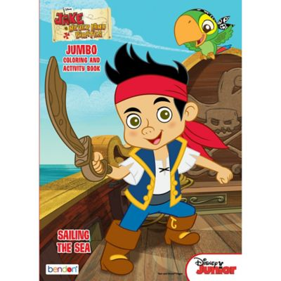 Jake And The Neverland Pirates Coloring Amp Activity Book