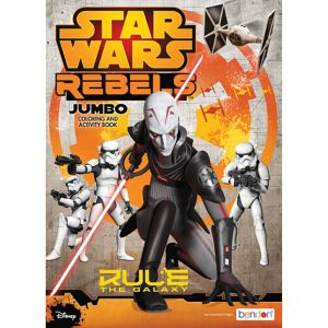 Star Wars Rebels Coloring & Activity Book