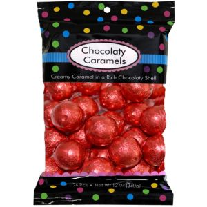 Red Caramel Balls 26pc