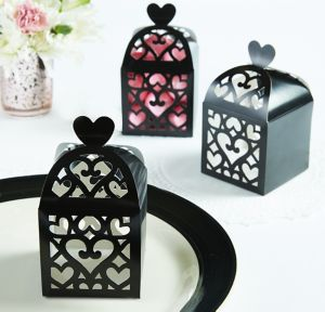Black Lantern Favor Boxes