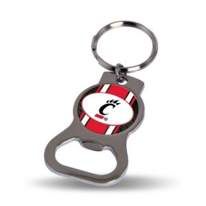 Cincinnati Bearcats Bottle Opener Keychain