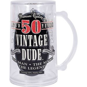Vintage Dude 50th Birthday Mug