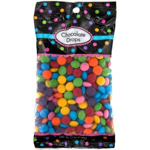 Rainbow Chocolate Drops 350pc