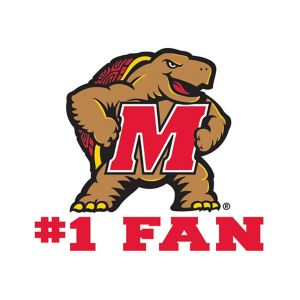 Maryland Terrapins #1 Fan Decal