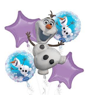 Olaf Balloon Bouquet - Frozen