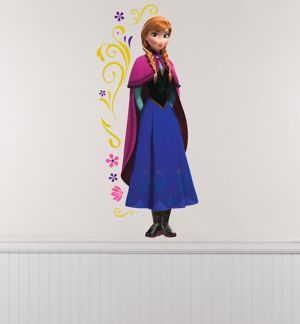Anna Wall Decals 10ct - Frozen