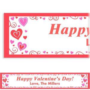 Custom Valentine Fun Banner 6ft