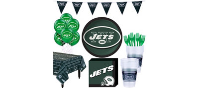 New York Jets Super Party Kit for 18 Guests