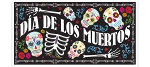 Giant Dia de Los Muertos Banner - Day of the Dead