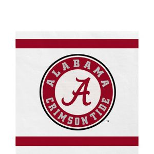 Alabama Crimson Tide Lunch Napkins 20ct