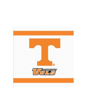 Tennessee Volunteers Beverage Napkins 24ct