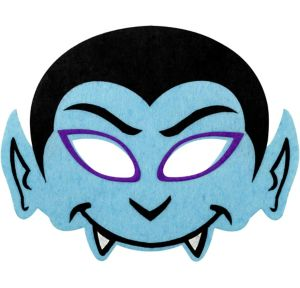 Child Blue Dracula Eye Mask