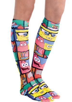 SpongeBob Knee-High Socks