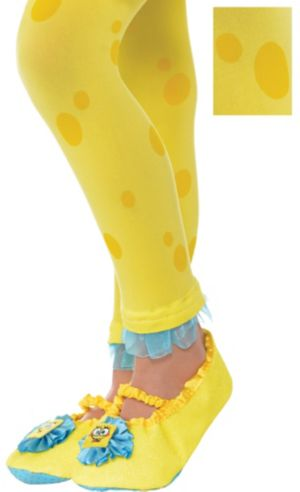 Child SpongeBob Footless Tights