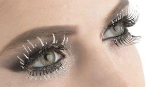 Glitter False Eyelashes Set
