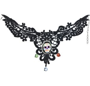 Sugar Skull Necklace - Day of the Dead