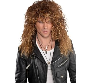 Brown Glam Rocker Wig