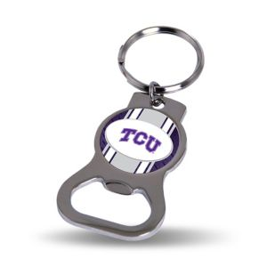 TCU Horned Frogs Bottle Opener Keychain