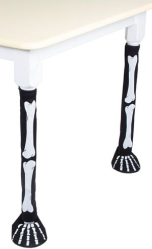 Skeleton Table Leg Covers 2ct