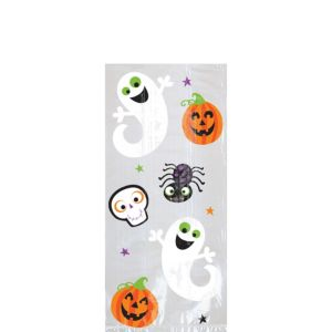 Small Friendly Halloween Treat Bags 20ct