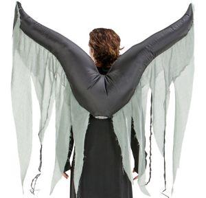 Inflatable Dark Angel Wings