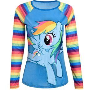 Rainbow Dash Long-Sleeve Shirt - My Little Pony