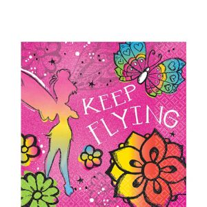 Keep Flying Tinker Bell Lunch Napkins 16ct
