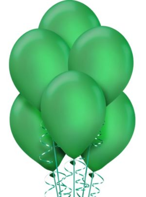 Festive Green Pearl Balloons 72ct