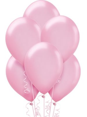 Pink Pearl Balloons 15ct