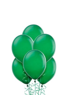 Festive Green Mini Balloons 50ct