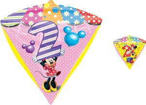 2nd Birthday Minnie Mouse Balloon - Diamondz