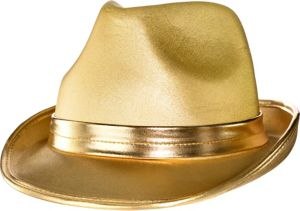 Gold Fedora